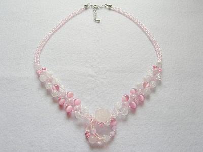 花の妖精ネックレス