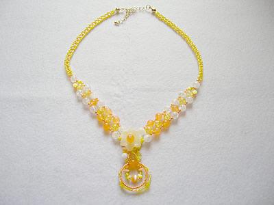 太陽の女神ネックレス